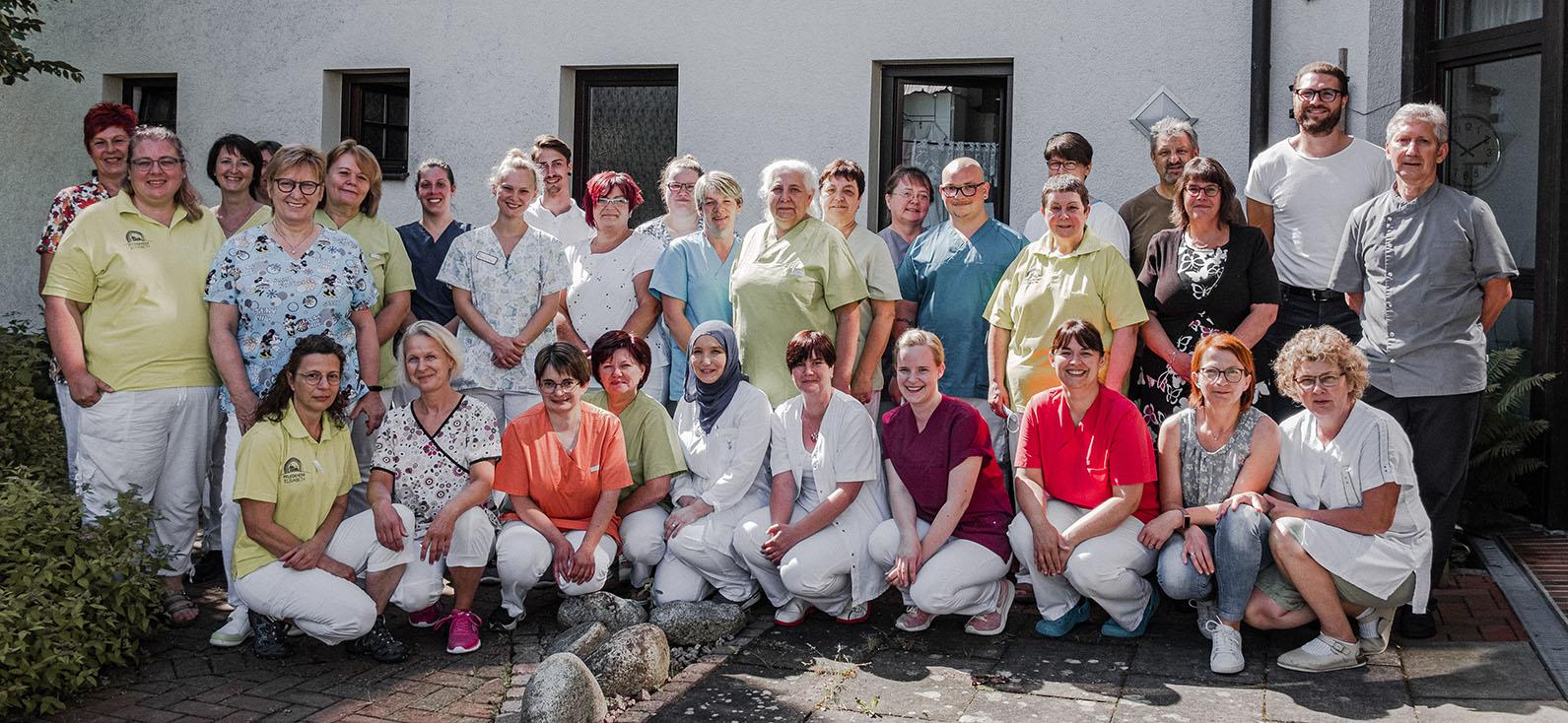 Cura Lichtenfels Pflegeheim Haus Team