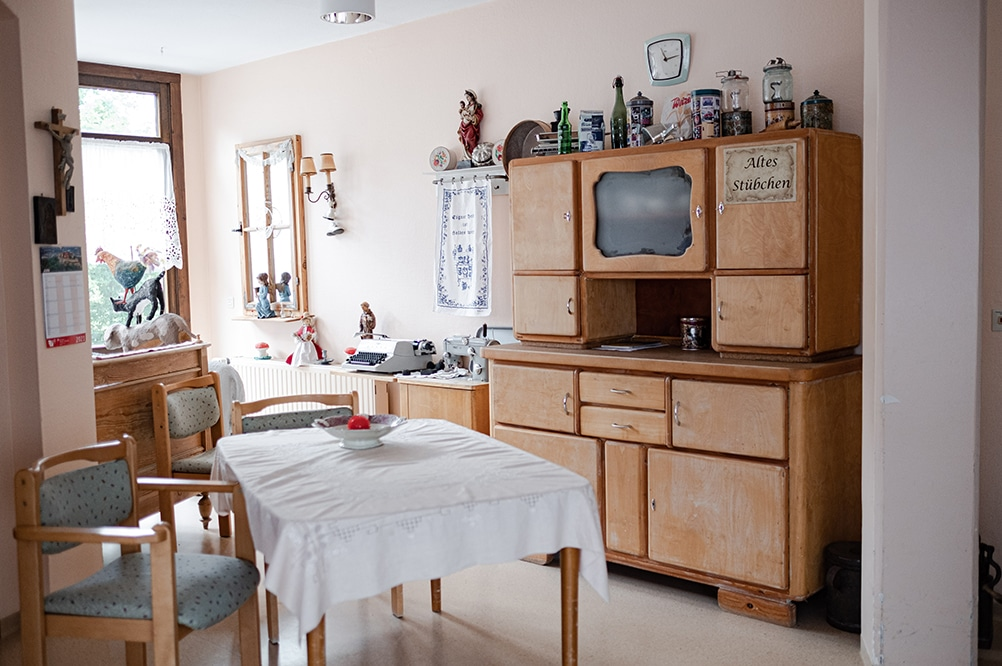 Innenraum des Pflegeheims