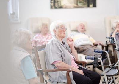 Senioren in Tagespflege