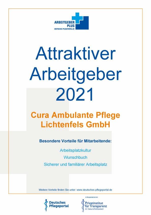 Karriere beim attraktiven Arbeitgeber 2021 – Ambulante Pflege